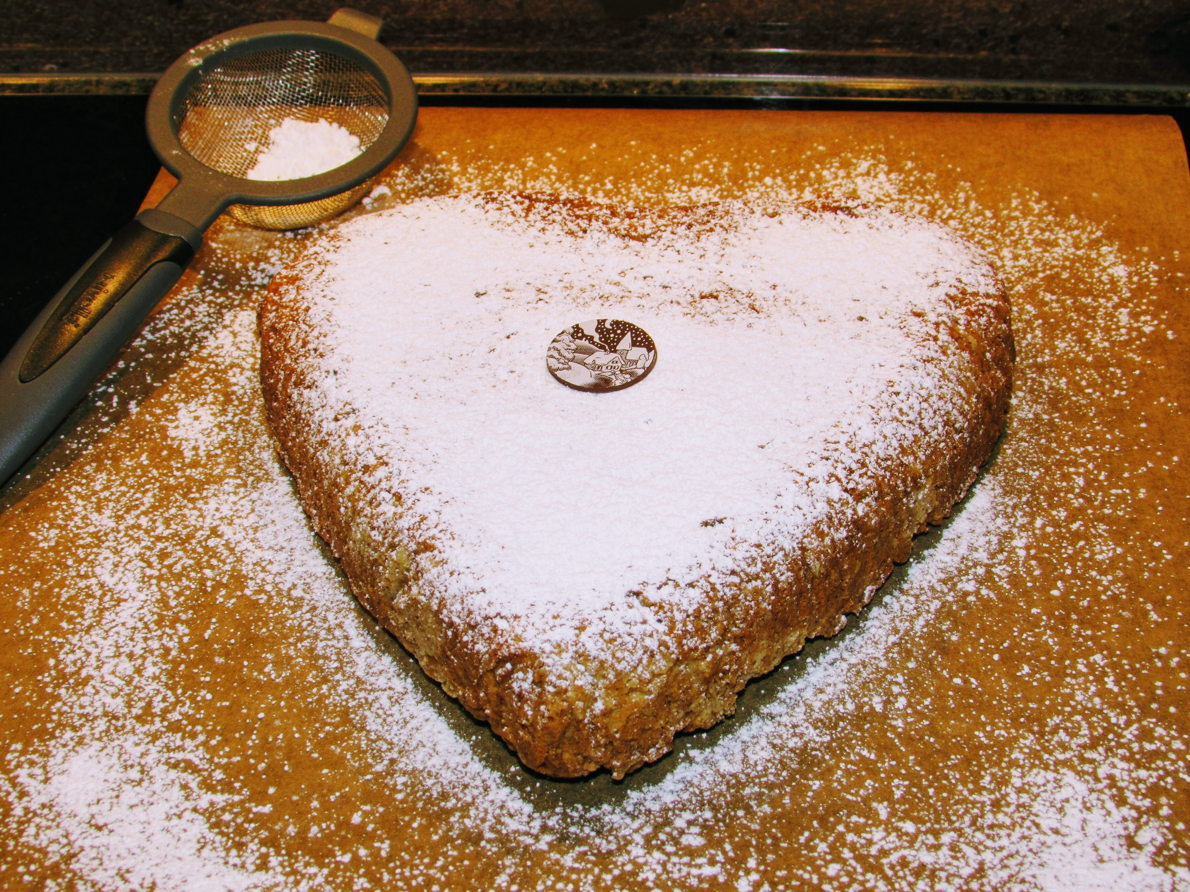 Almond Cake for Valentine's Day