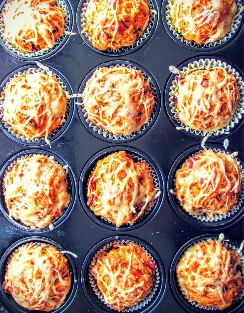 Simply The best Pizza Muffins